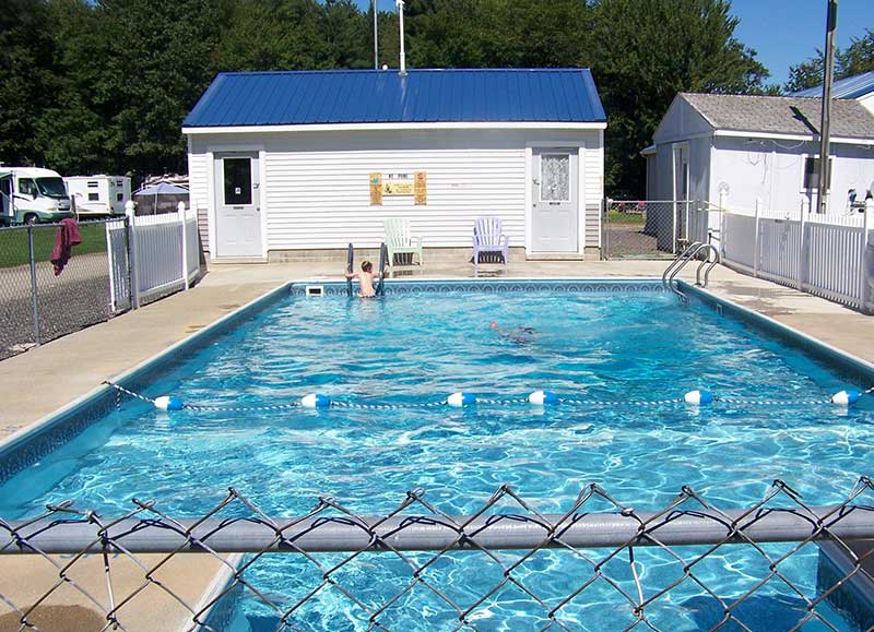 Facilities riverbend campground Campsites in poole with swimming pool